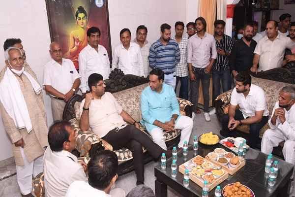 deputy-cm-dushyant-chautala-haryana-deepak-chaudhary-home