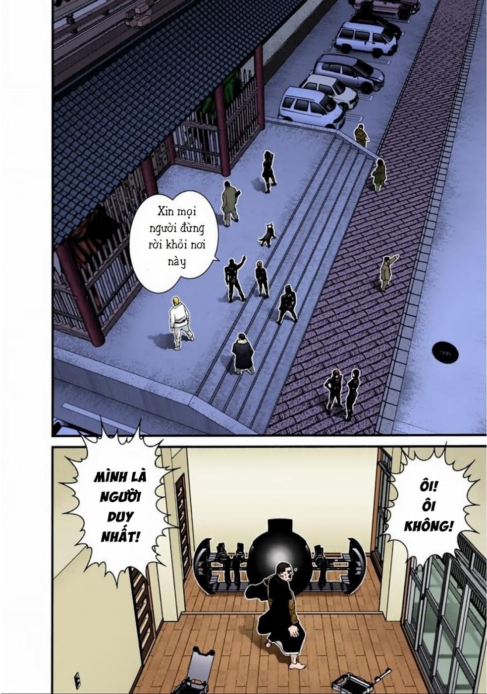Gantz Chap 61: Cánh cổng trang 8