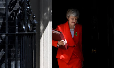 Breaking :Tearful British Prime Minister Theresa May Resigns