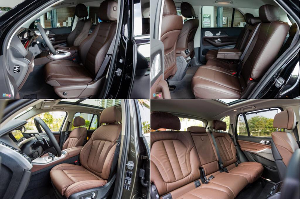 Chọn Mercedes-Benz GLE hay BMW X5 khi mua SUV 7 chỗ hạng sang?