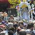 Una gran congregación en la peregrinación a Luján