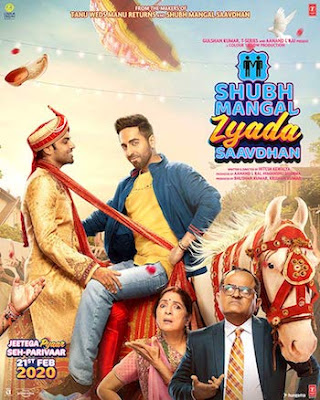 Shubh Mangal Zyada Saavdhan 2020, Bollywood Movie