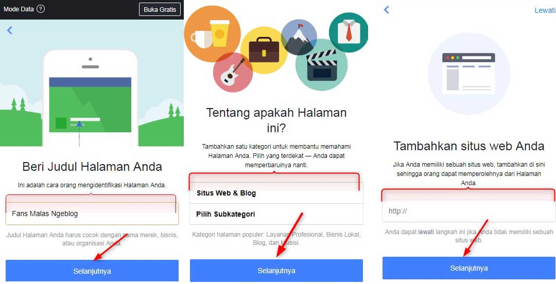 Membuat,Fanspage,facebook,lewat,Hp,Android