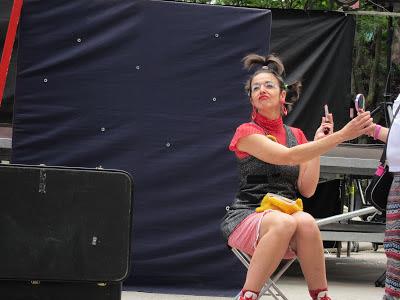 festival teatro de calle, teatro clown, teatro de calle, payasa