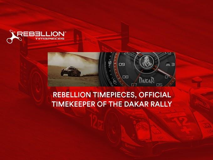 REBELLION - ダカールラリーのオフィシャル・タイムキーパーに