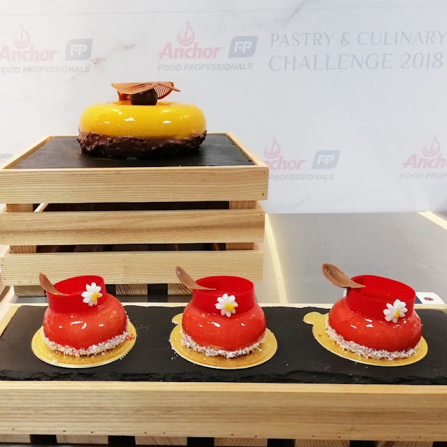 Pertandingan Anchor Food Professionals Pastry & Culinary Challenge 2018