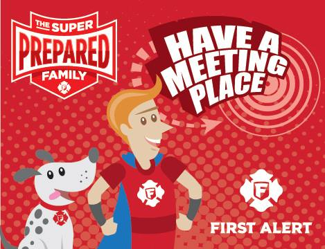 Fire Prevention Month With First Alert #SuperPreparedFamily