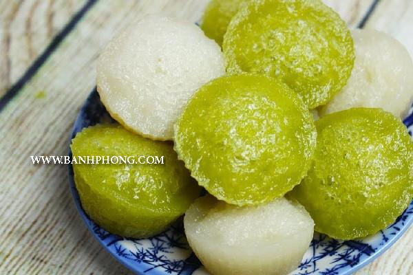 Bánh bò rễ tre đặc sản Tân Châu - An Giang (bánh bò
