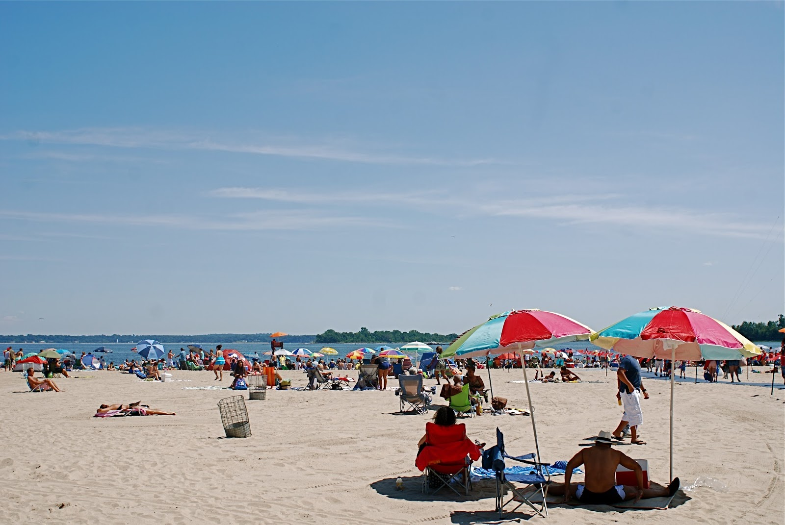 Orchard Beach In Pelham Bay Park The Bronx