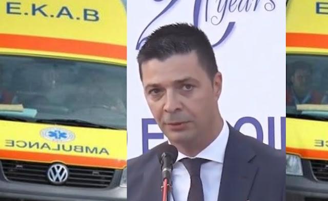 Με νέα δωρεά η Euroins Ελλάδος και ο Κ. Μάκαρης ενισχύουν το ΕΚΑΒ