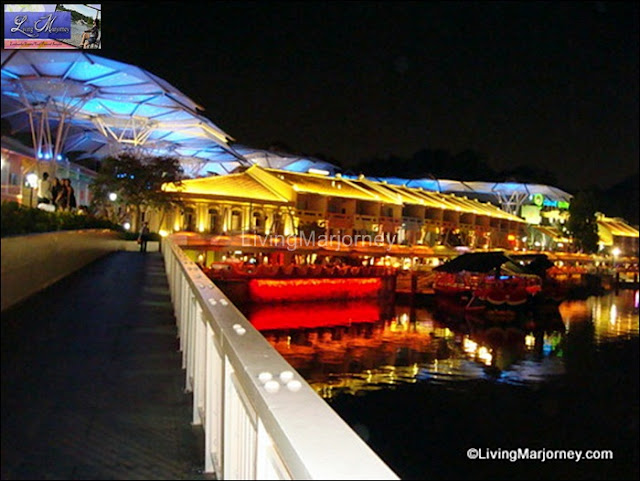 Clarke Quay at night