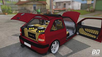 VW Gol g3 Euro Style para GTA San Andreas - Mala