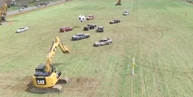 Vidéo. Quand le sport virtuel devient une réalité sur les pelouses