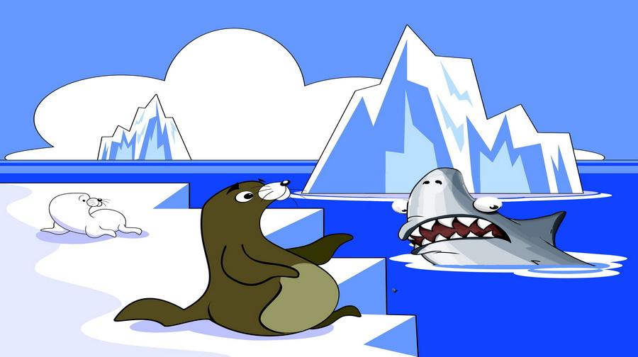 Kisah Dongeng Anjing Laut yang Cerdik
