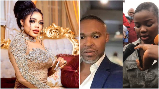 This girl needs hot slap- Bobrisky reacts to the murder of Super TV CEO