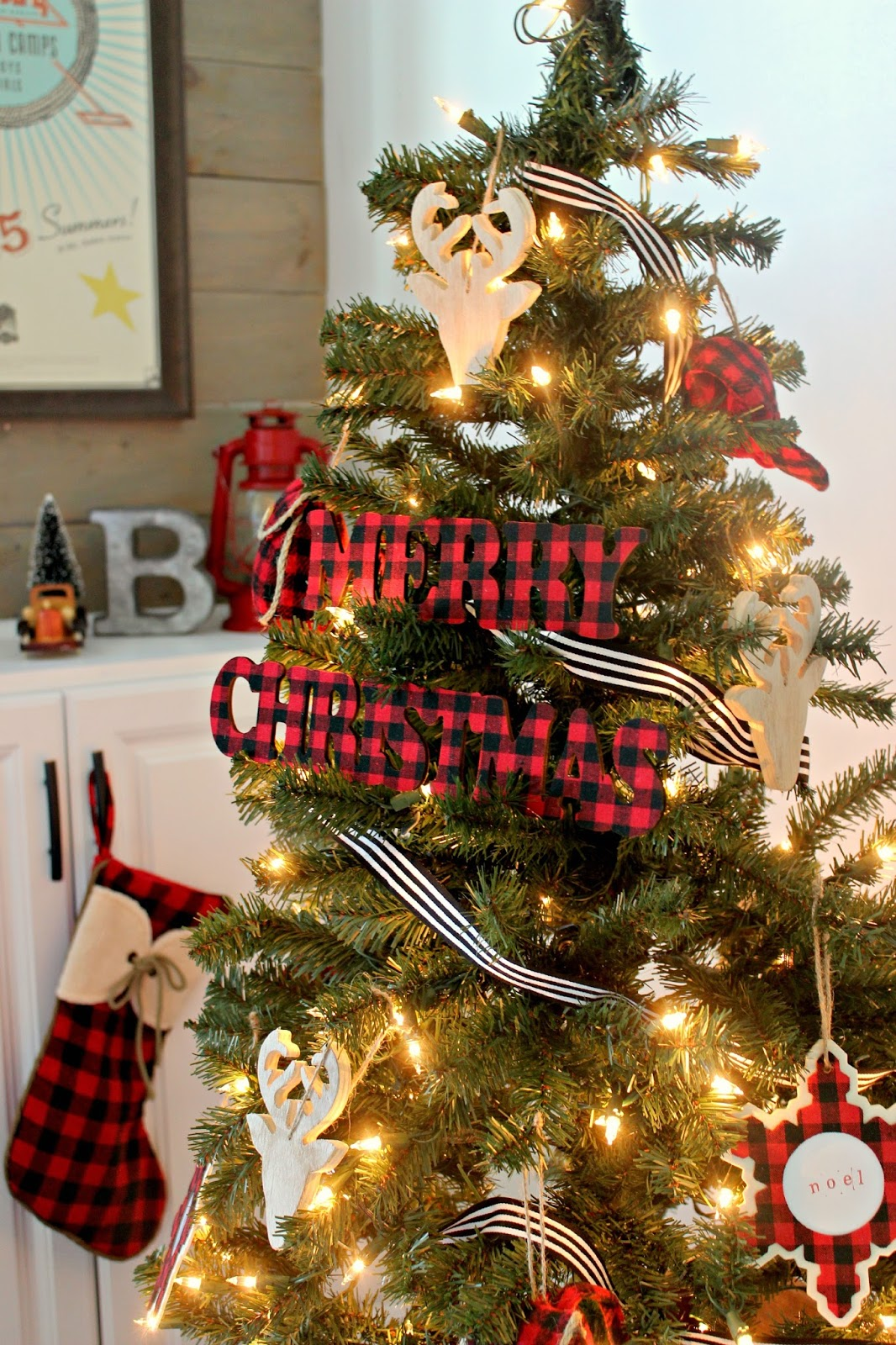Our Very Merry Rustic Playroom Christmas Tour