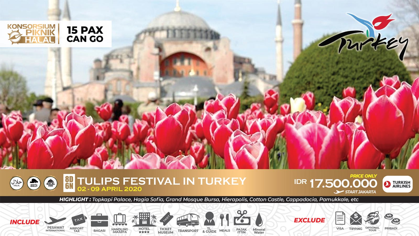 tour turki dari surabaya, tour surabaya turki