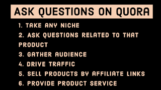 Earn by asking questions on quora