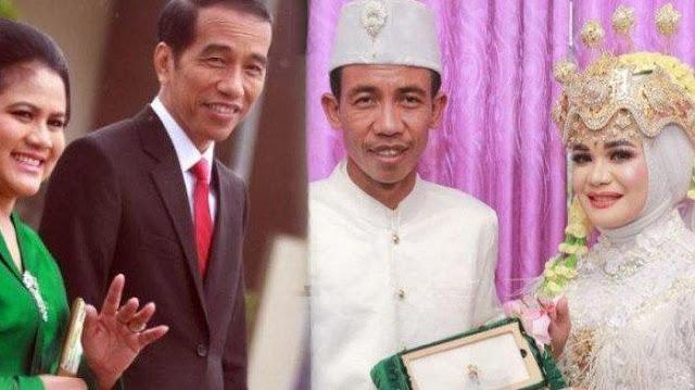 Viral Pengantin Baru Syok, Setelah Dirias Wajah Suaminya Disebut Mirip Presiden Jokowi
