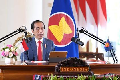 Pidato di KTT Pleno ke-37 ASEAN, Presiden Jokowi Sambut Baik Kerangka Kerja Sama ASEAN Travel Corridor Agreement