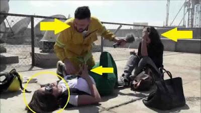 فيديو| ردة فعل مهيرة عبد العزيز على مقلب رامز جلال يفضح فبركته!