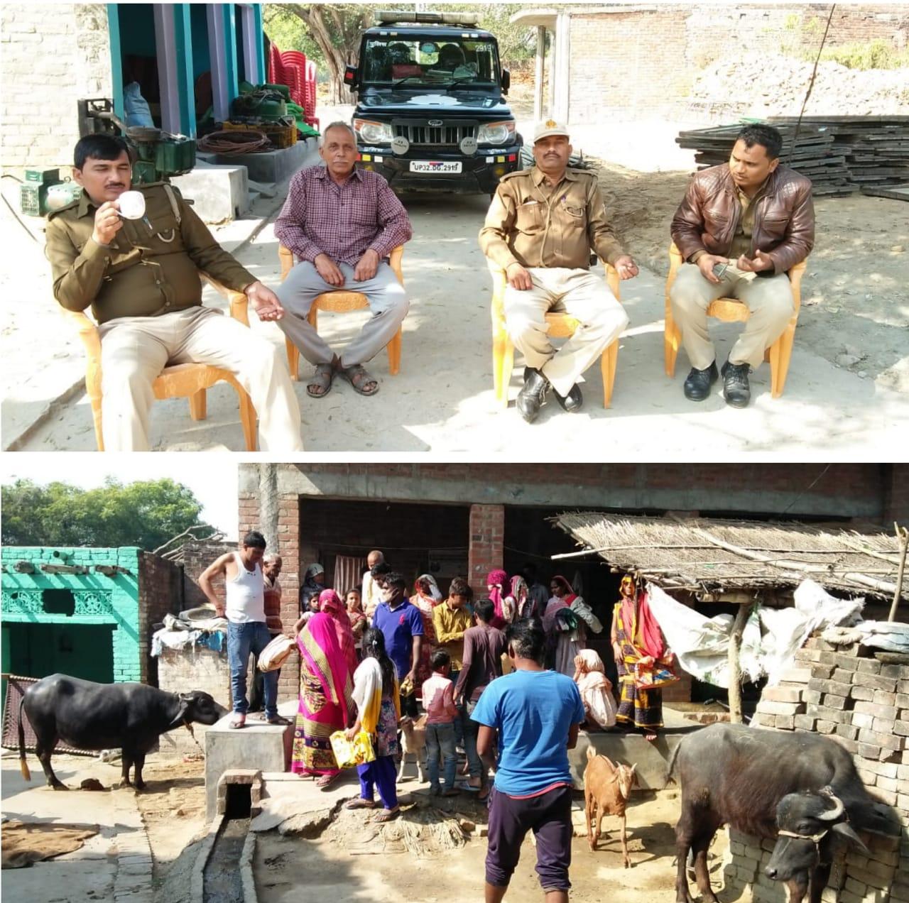 कोटेदार की दबंगई से तंग आकर ग्रामीणों ने 112 नम्बर किया डायल