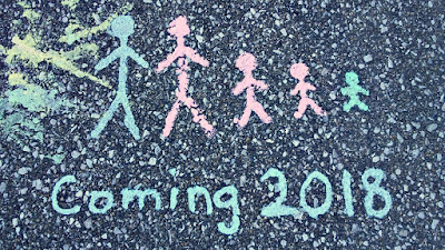 chalk people pregnancy announcement
