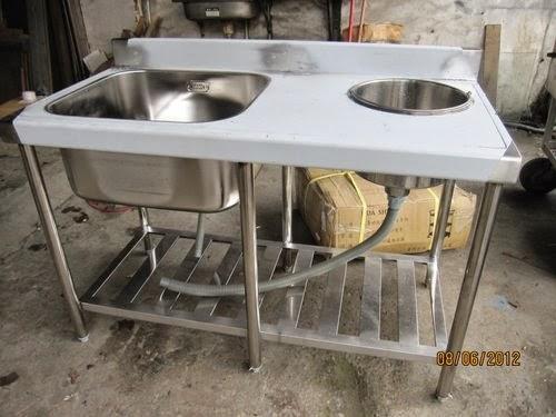 Deep Kitchen Sink Millwork Cabinets 單口水槽加廚餘桶 30深水槽 厨房水槽 洗菜槽 8 痞客邦
