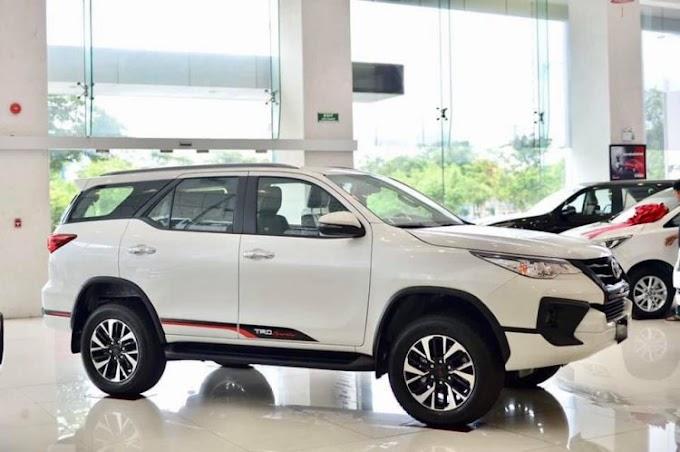 Toyota Fortuner 2021. Màu Trắng. Mới 96%