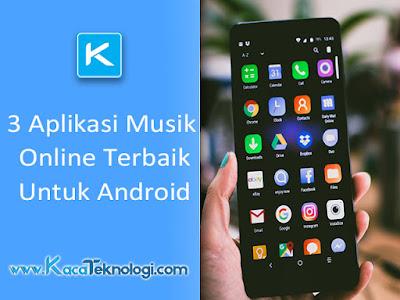 Aplikasi musik online terbaik android, pemutar musik online terbaik, spotify, joox, spoon radio