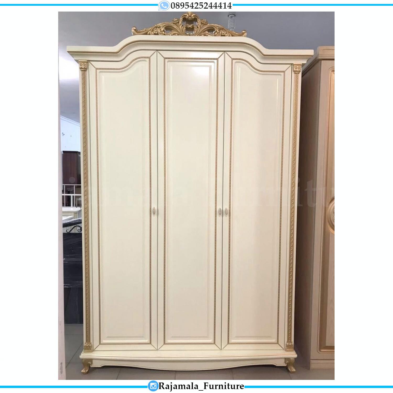 Harga Lemari Pakaian Mewah Terbaru Furniture Jepara Luxury Classic RM-0174