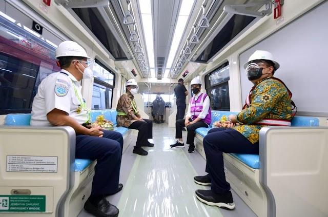 Pembangunan LRT Jabodebek Capai 85%, Presiden Jokowi Targetkan Beroperasi  2022