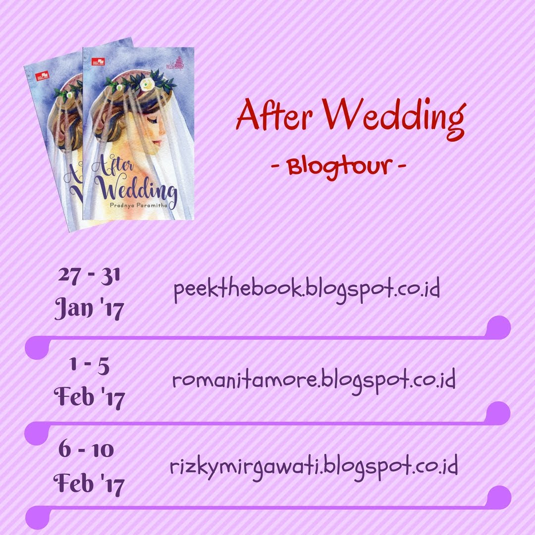 Blogtour & Giveaway After Wedding