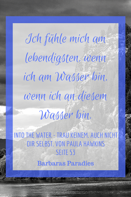 Buchrezension #145 Into the Water - Trau keinem. Auch nicht dir selbst. von Paula Hawkins