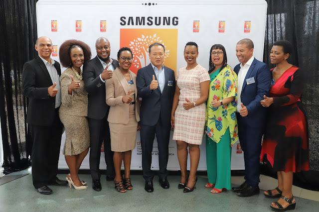 @SamsungSA and UWC Sparks #DigitalTransformation to Empower Youth