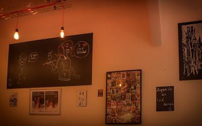 cafe dessiné rouen