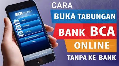 Cara Buka Rekening BCA Online :Syarat Dan Keuntungan Memakai BCA Mobile