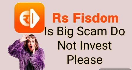 rsfisdom scam