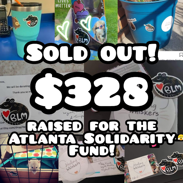 Money raised for the Atlanta Solidarity Fund