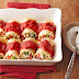 Chicken Lasagna Rolls with Chive-Cream Sauce
