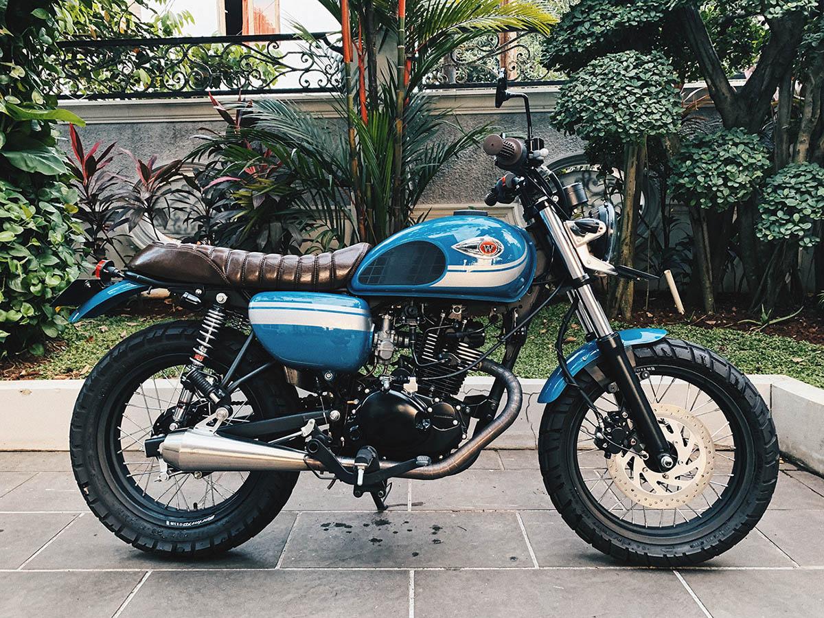 Lebih dari Indah - Kawasaki W175 Scrambler
