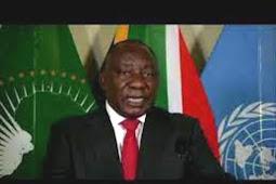 Inilah Pidato Presiden Republik Afrika Selatan, Matamela Cyril Ramaphosa di Debat Umum PBB ke 75