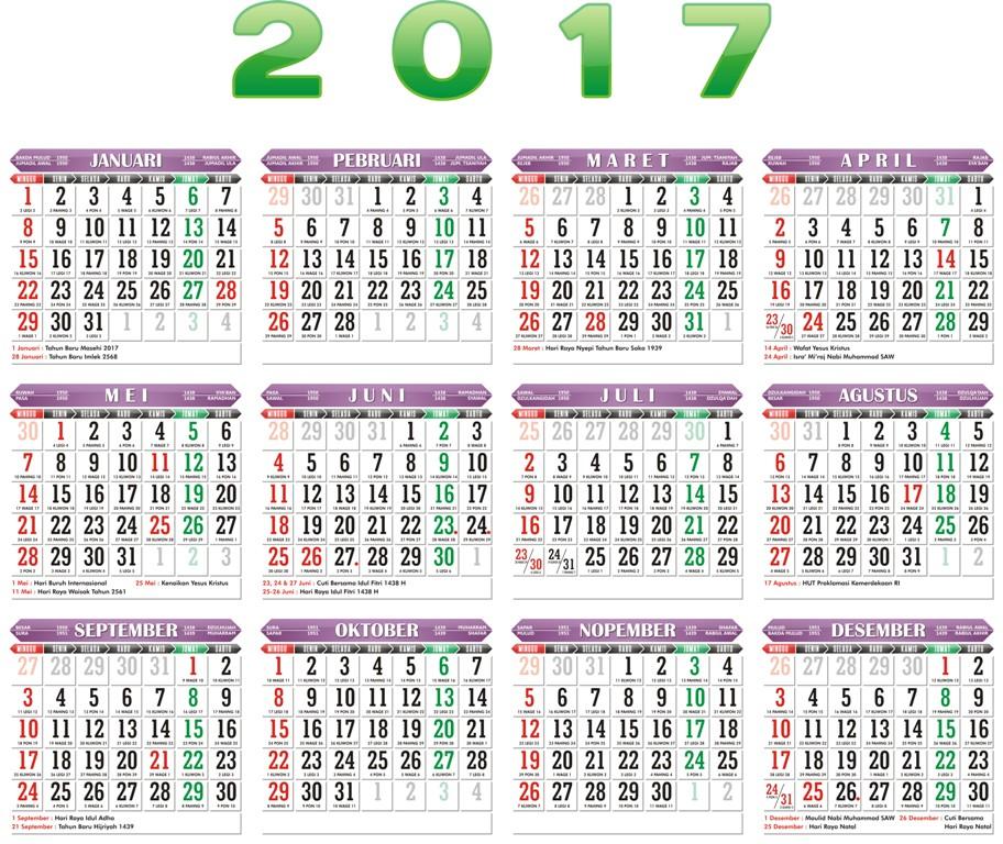 ... Kalender Gratis 2016 Lengkap Percetakan Grafis | New Style for 2016