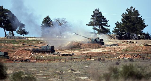 Turquia invade a Síria - MichellHilton.com