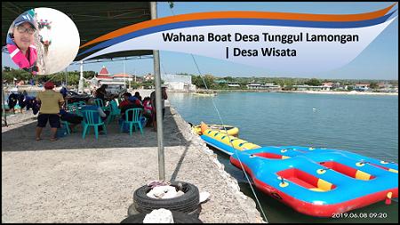 Wahana Boat Desa Tunggul Lamongan | Desa Wisata