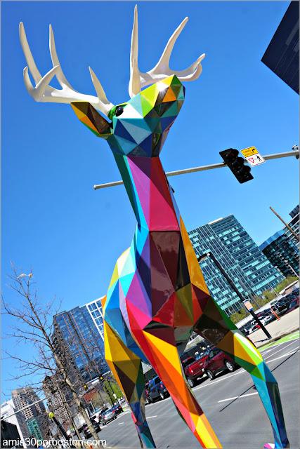 Esculturas Españolas en las Calles de Boston