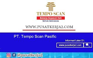 Lowongan Kerja S1 PT Tempo Scan Pasific November 2020