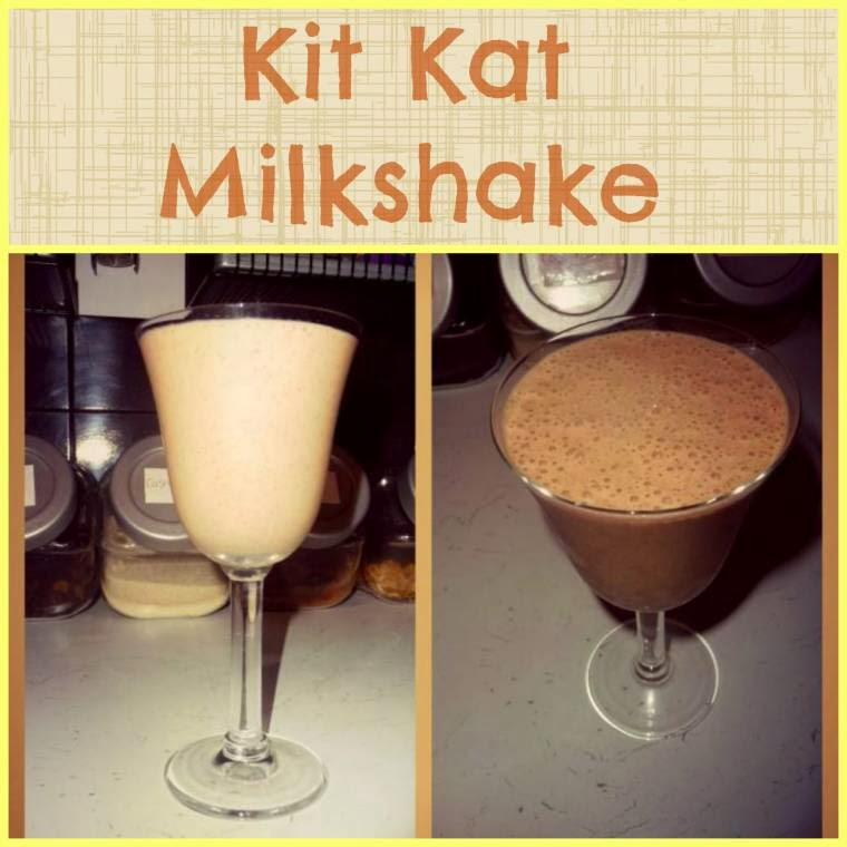 Kit Kat And Banana Smoothie