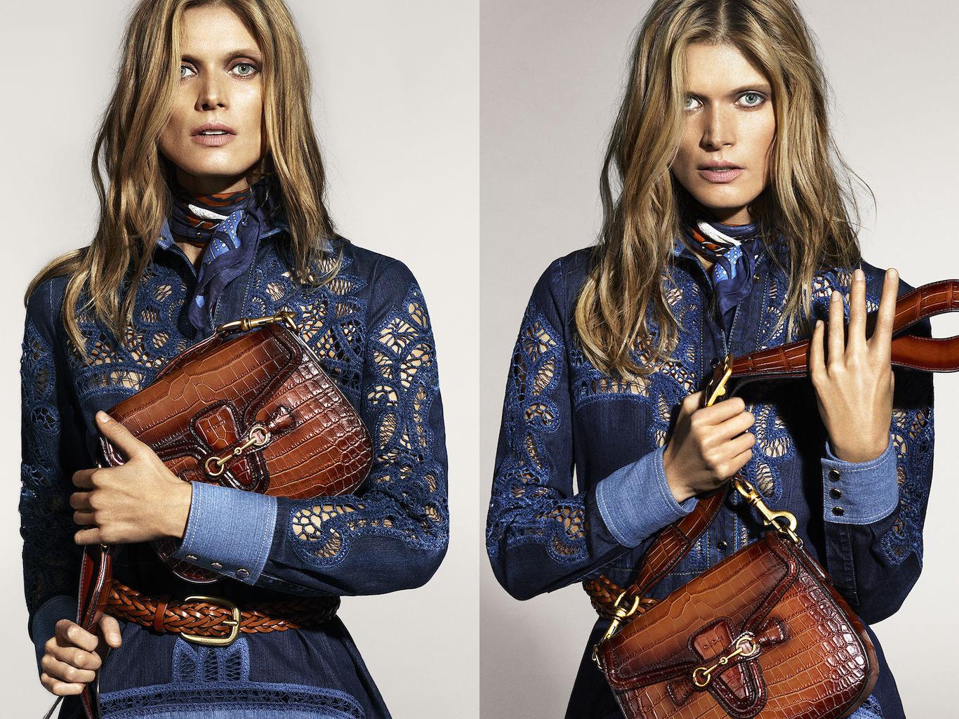 Fashion week Bela malgosia gucci spring ad campaign for lady