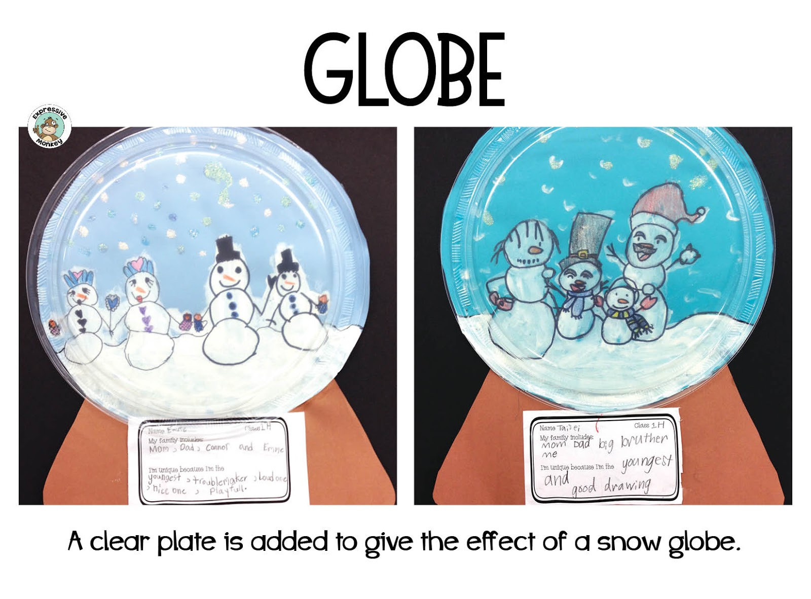 You Can Get Just The Snowman Drawing Kit Or The Entire Snowman Family Snow Globes Lesson